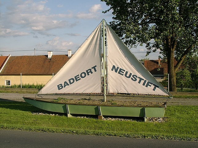 Neustift an der Lafnitz, Segelboot