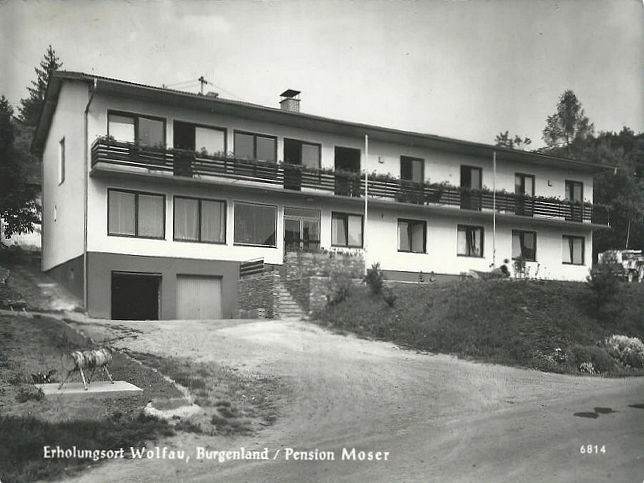 Wolfau, Pension Moser